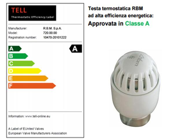 TESTA TERMOSTATICA RBM TESTINA per VALVOLA RADIATORE CALORIFERO TERMOSIFONE TL30  eBay